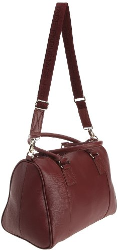 Cesar Rosso Boston Tracolla cardinal A Borsa Donna rouge Paquetage 5vw6qYq