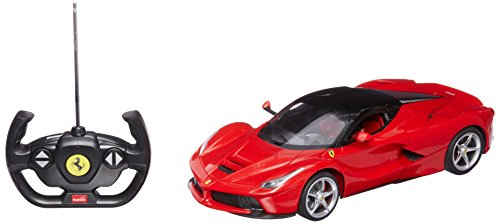 - RASTAR 1/14 Scale Ferrari La Ferrari Laferrari Radio Remote Control Model Car R/C RTR Open Doors (Color May Vary)