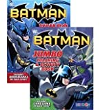 UP 2-Pack Batman Jumbo Coloring & Activity Book 96 Pages