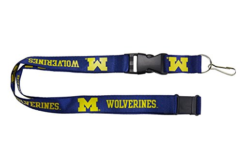 NCAA Michigan Wolverines Team Lanyard