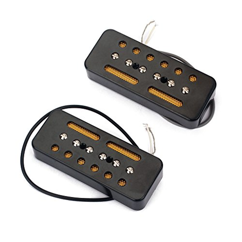 Soap Bar Single Coil Pickups Bridge & Neck Pickup Set for sale  Delivered anywhere in USA