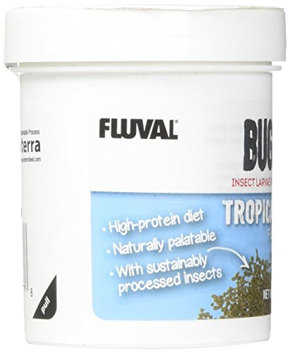 Picture of Fluval A6577 Bug Bites Tropical Fish Small Granules 1.59 oz, Small to Medium Fish