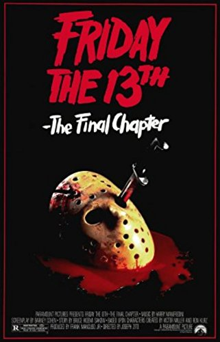 Friday the 13th Part 4 Final Chapter Movie Poster  24x36