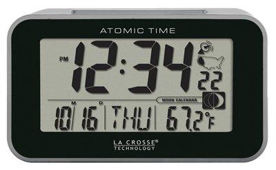La Crosse Technology 617-1270 Atomic LCD Alarm Clock - Quantity 4