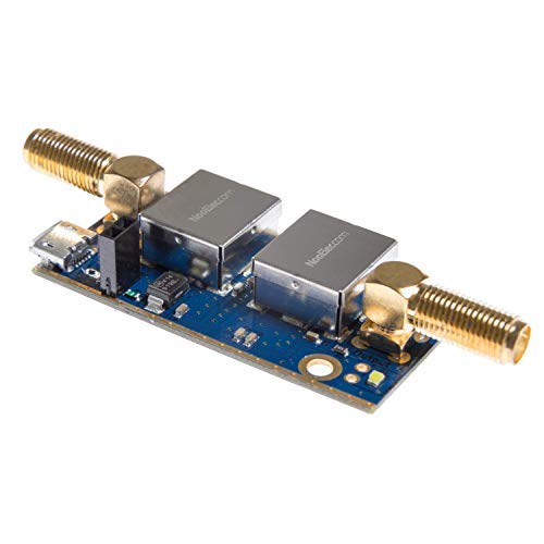 (Nooelec SAWbird+ GOES Barebones - Premium Saw Filter & Cascaded Ultra-Low Noise LNA Module for NOAA (GOES/LRIT/HRIT) Applications. 1688MHz Center Frequency.)