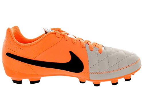 Grey Genio Tiempo Firm Men's Football Leather Orange Ground Nike Boots znOwFq7xn5