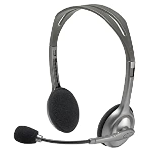 The Logitech H100 stereo headset review by experts of Review of gadgets.