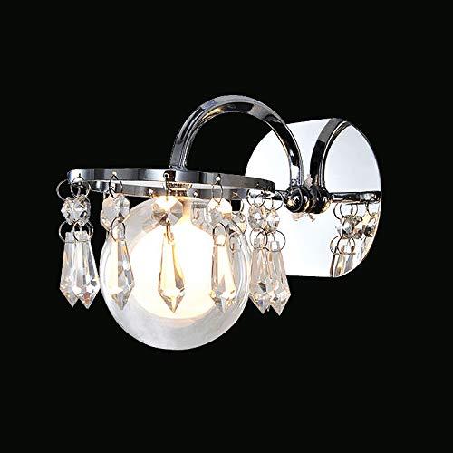 Mirror Front Lamp, Wall Lamp, Silvery Lampshade Light, Silvery Lamp, Glass Mirror Front Lamp, ()