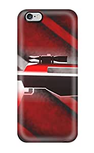 New Arrival Red Machine Gun For Iphone 6 Plus Case Cover