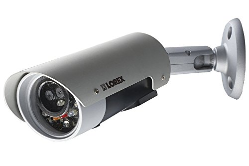 Lorex LNC226X Wireless HD Indoor/Outdoor Network Camera with 720p Resolution (Silver)