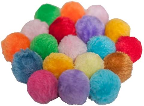 Fashion's Talk Cat Toys Furry Rattle Ball for Kitty 4