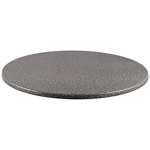 Duratop 24'' Round Table Top in Granite by Contract Style