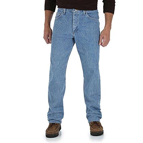 Regular Genuine Fit Wrangler Jeans (Wrangler Mens Jeans Regular Fit U Shape Jean Regular Fit Men Jeans (42X30, Light Stone))