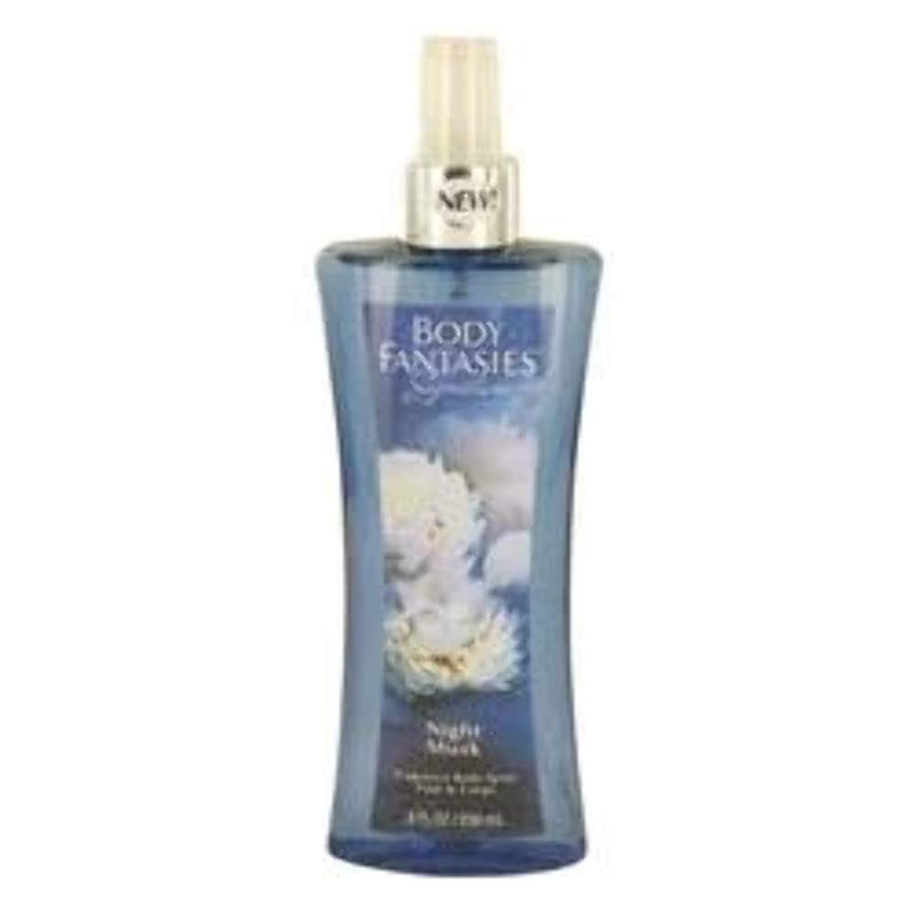 Night Musk by Body Fantasies, 8 oz Fragrance Body Spray for Women