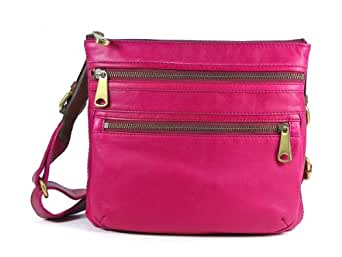 Fossil Explorer Crossbody Zb5255533 Color: Orchid