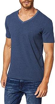 Camiseta V Stretch, JAB, Masculino