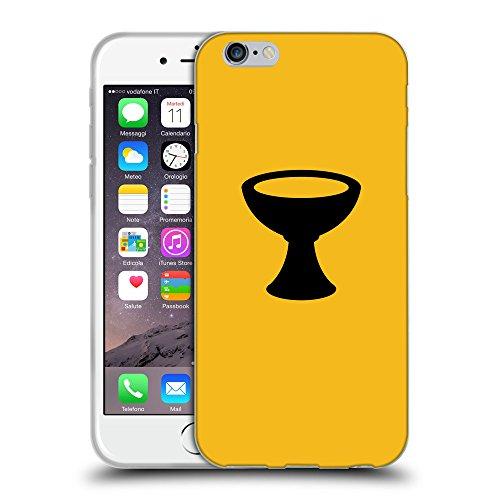 "GoGoMobile Coque de Protection TPU Silicone Case pour // Q08400602 Religion 4 ambre // Apple iPhone 6 4.7"""