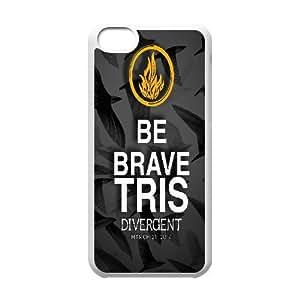 IPhone 5C Cases Divergent Words, Divergent [White]
