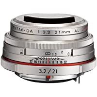 PENTAX Limited lens-thin wide-angle single focus lens HD PENTAX-DA21mmF3.2AL Limited Silver K mount APS-C size 21420(Japan Import-No Warranty)