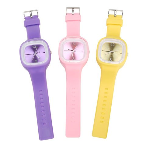 Silicone Watch - Oversized - Assorted Colors