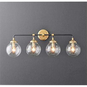A Touch of Design Globe 4-Light Globe Vanity Sconce ...