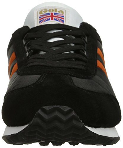 Gola Heren Boston Fashion Sneaker Zwart / Oranje