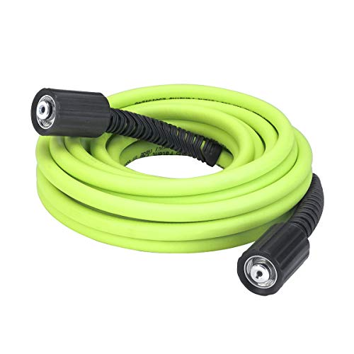 - Flexzilla Pressure Washer Hose with M22 Fittings, 1/4 in. x 25 ft, ZillaGreen - HFZPW3425M