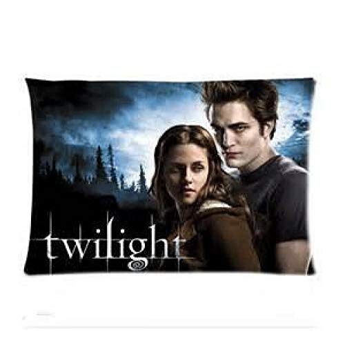 - Clayton Binder Twilight Saga Home Decorative Soft Throw Pillowcase Cushion Custom Pillow Case Cover Protecter with Zipper Standard Size 20x30 Inches Two Sides Printed