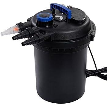 Goplus Pressure Bio Filter 4000GAL with 13W UV Light