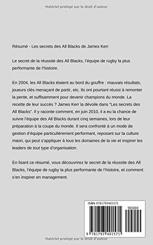les secrets des all blacks