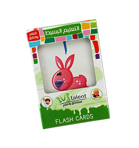 LearnWiz Arabic Alphabet Flash Cards: Alphabet Cardpaper, Arabic Flash Cards for Children and Pre-Schoolers