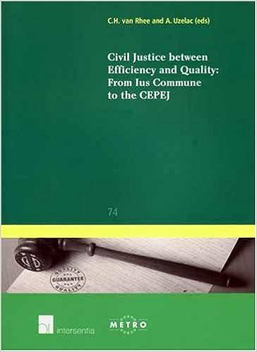 Descargar Libros Gratis Ebook Civil Justice Between Efficiency And Quality: From Ius Commune To The Cepej PDF Español