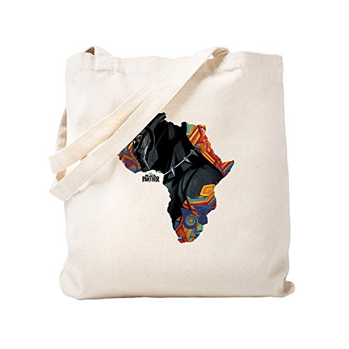 CafePress - Black Panther Africa - Natural Canvas Tote Bag, Cloth Shopping Bag by CafePress