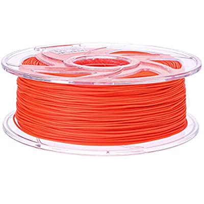 Lodesign TPU+ 1KG 1.75mm(+/-0.03) 3D Printer Filament, 1kg Spool,6 Colors