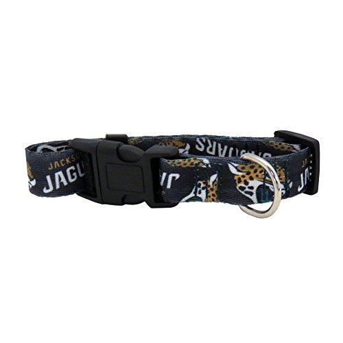 Jacksonville Jaguars Dog Collar - NFL Jacksonville Jaguars Team Pet Collar, Small