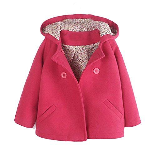 Floral Wool Coat - 4