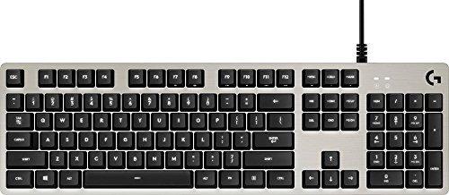 Logitech - G413 Mechanical Gaming Keyboard - Silver (Certified Refurbished) [並行輸入品] B07HRQ1T7P