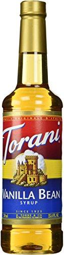 Torani Vanilla Bean Syrup, 25.4 Ounce
