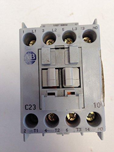 USED A-B ALLEN-BRADLEY RELAY CONTACTOR 100-C23*10 COIL 110V 120V C23 100-C23 (Allen Bradley Ab Relay)