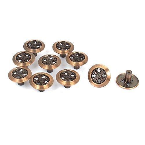 eDealMax Meubles de Cuisine armoire  tiroirs Style rtro Poigne 10pcs Bouton Pull
