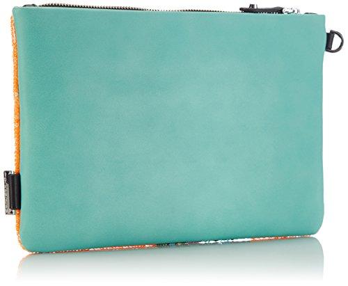 Fornarina Sue - Sostenedor de bolso de piel sintética mujer multicolor - Mehrfarbig (water/black C450)