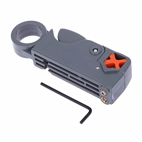 LALICORP Rotary Coax Coaxial Cable RG58 Stripper Cutter Tool for RG-58/59/62/6/6QS/3C/4C/5C Network Tool Best Price