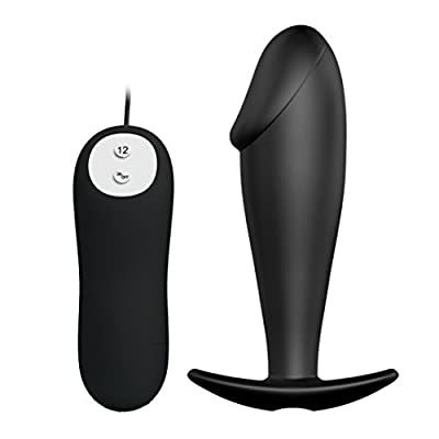 Silicone Vibrating Anal Plug and Prostate Massager