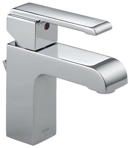 Delta 586LF-MPU Arzo Single Handle Centerset Bathroom Faucet, Chrome (Arzo Series Single Handle)