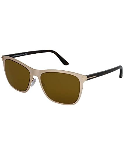 9d1c34a4f34 Image Unavailable. Image not available for. Color  Tom Ford Womens Men s Alasdhair  55Mm Sunglasses