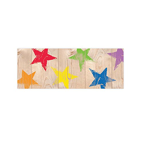 Creative Teaching Press Upcycle Style Rustic Stars Border (8380) -