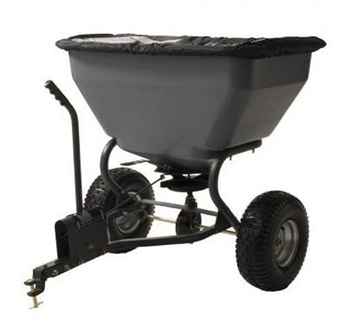 Broadcast Series - Precision Products TBS7000RDOS 7 Series 200-Pound Tow Behind Broadcast Spreader with Rain Cover