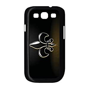 Customizeize NFL New Orleans Saints Back Case for SamSung Galaxy S3 I9300 JNS3-1063