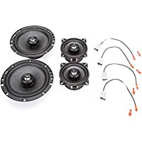 1993-1997 Toyota Corolla Complete Factory Replacement Speaker Package by Skar Audio