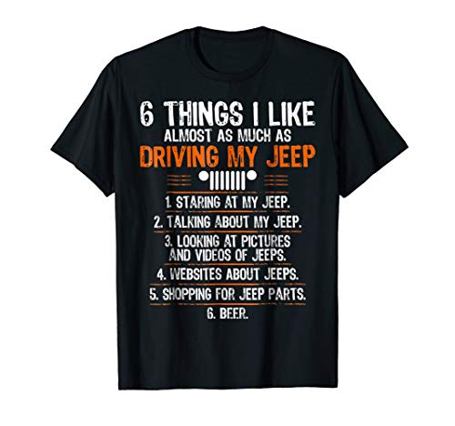 Funny Off Road Driving T Shirt For Jeep 4X4 Drivers ()